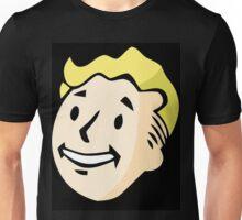 Fallout Floating Vault-Tec Boy Head Unisex T-Shirt