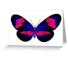 Full color danaida butterfly Greeting Card