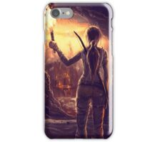 Tomb Raider Reborn iPhone Case/Skin