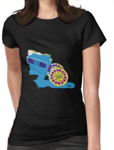 View-master Womens Fitted T-Shirt
