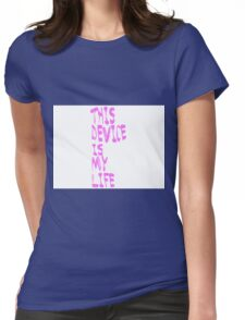 Phone is Life Womens Fitted T-Shirt