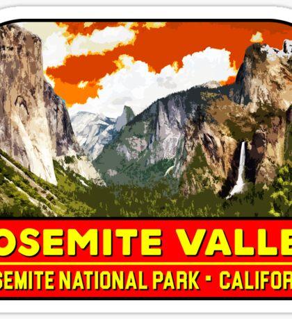 YOSEMITE VALLEY NATIONAL PARK CALIFORNIA MOUNTAIN HIKING CAMPING CLIMBING 2 Sticker