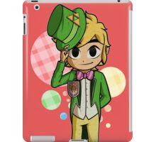 Top Hat Toon Link iPad Case/Skin