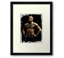 connor mcgregor Framed Print