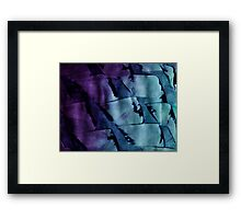 Gradient Texture Framed Print