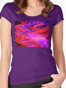 Purple Red River Women's Fitted Scoop T-Shirt