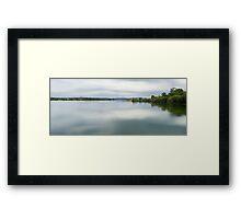 Silk Manning River 01 Framed Print