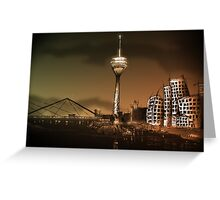 Düsseldorf Skyline Greeting Card