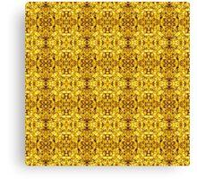 500. Golden Illusion Canvas Print