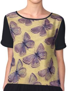 The Butterfly Collection 3 Chiffon Top
