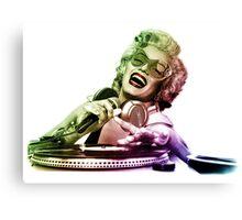 DJ M&M Canvas Print