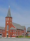 St Mary's Church, Chester, Illinois by Graeme  Hyde