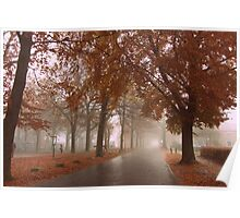 Autumn in my Hometown Poster