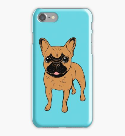 Golden Fawn Frenchie iPhone Case/Skin