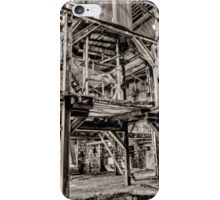 Abandoned old glass factory iPhone Case/Skin