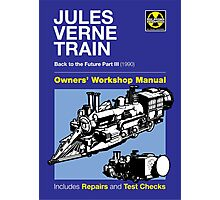 Owners' Manual - Jules Verne Train Photographic Print