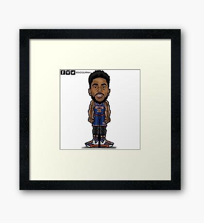 Derrick Rose Toon Framed Print