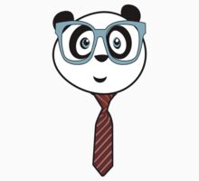 Panda Nerd Kids Clothes