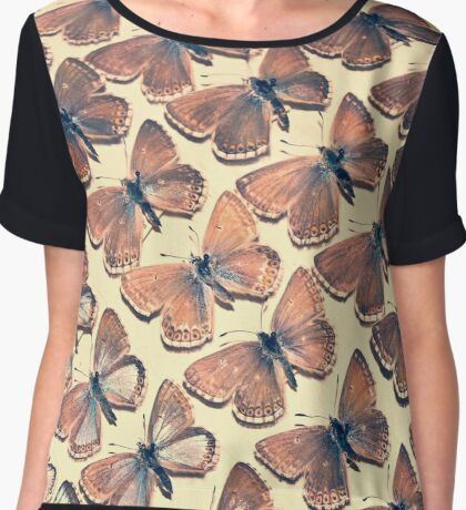 The Butterfly Collection 5 Chiffon Top