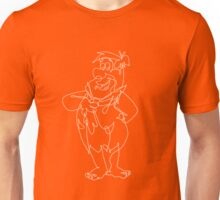 The Flintstones single line art Unisex T-Shirt