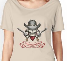 Standing rock - vintage skull Women's Relaxed Fit T-Shirt