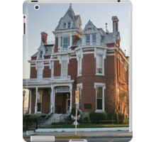 The Aaron G. Cloud House, now the McCoy Memorial Library Illinois iPad Case/Skin