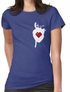 Gamer at Heart Womens Fitted T-Shirt