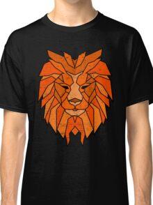 Polygonal Lion Face Classic T-Shirt