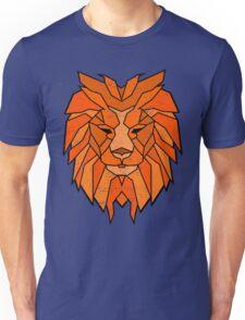 Polygonal Lion Face Unisex T-Shirt