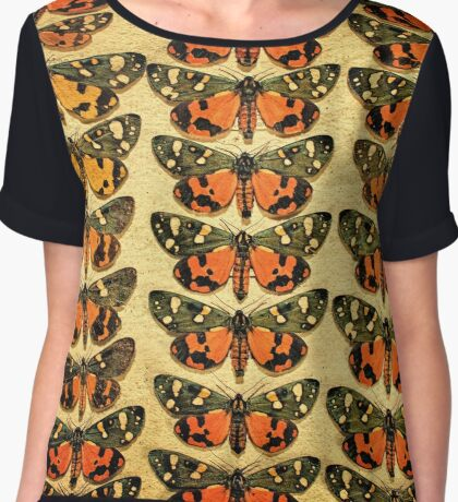 The Butterfly Collection 6 Chiffon Top