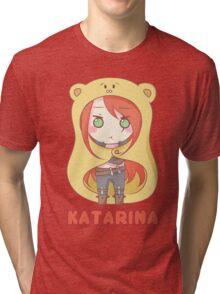 Katarina Chibi Tri-blend T-Shirt
