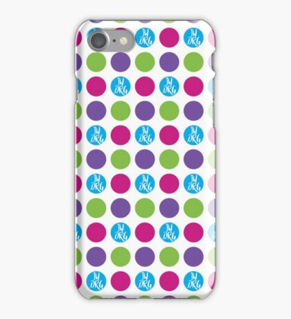 JW.org color dots iPhone Case/Skin
