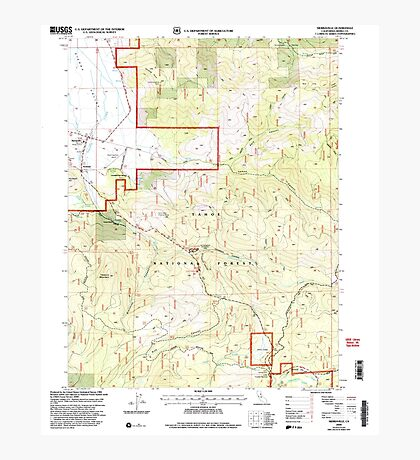 USGS TOPO Map California CA Sierraville 295201 2000 24000 geo Photographic Print