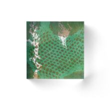 Ocean 9 Acrylic Block