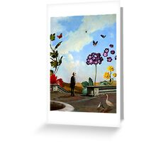 The Primrose Path Greeting Card