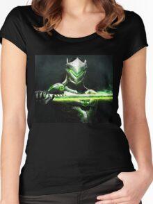 OVERWATCH GENJI Women's Fitted Scoop T-Shirt