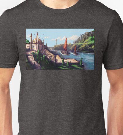 River Temple Unisex T-Shirt