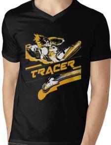 OVERWATCH TRACER Mens V-Neck T-Shirt