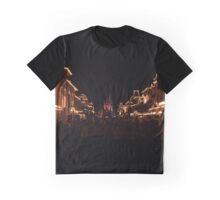 Main Street At Night Graphic T-Shirt
