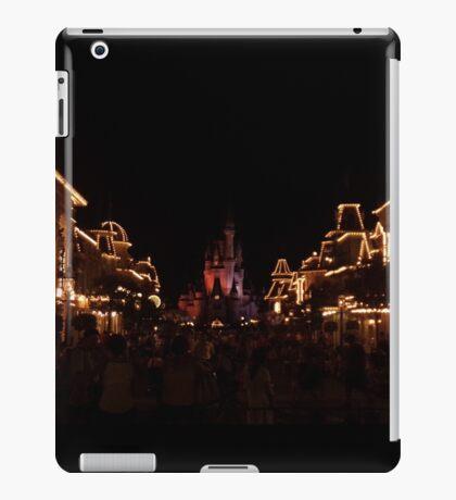 Main Street At Night iPad Case/Skin