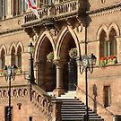 Chester Town Hall Steps, by AnnDixon