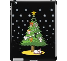 Christmas Cats Tree Decoration Holiday Gift T-Shirt iPad Case/Skin