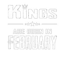 KINGS ARE BORN IN FEBRUARY T-SHIRT Photographic Print