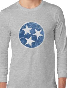 Vintage State Flag of Tennessee Long Sleeve T-Shirt