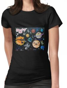 """""""Planetary Pals"""" Womens Fitted T-Shirt"""