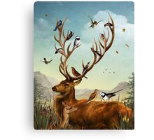 The Native Stagperch Canvas Print