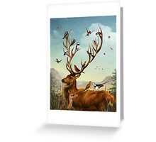 The Native Stagperch Greeting Card