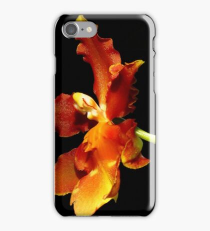 Black With A Hint Of Botanical Element ~ Part Sixteen iPhone Case/Skin