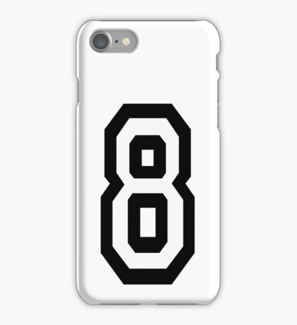 8, EIGHT, TEAM SPORTS, NUMBER 8, eighth, competition iPhone Case/Skin