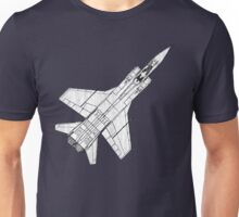 Mig 31 Fighter Aircraft Unisex T-Shirt